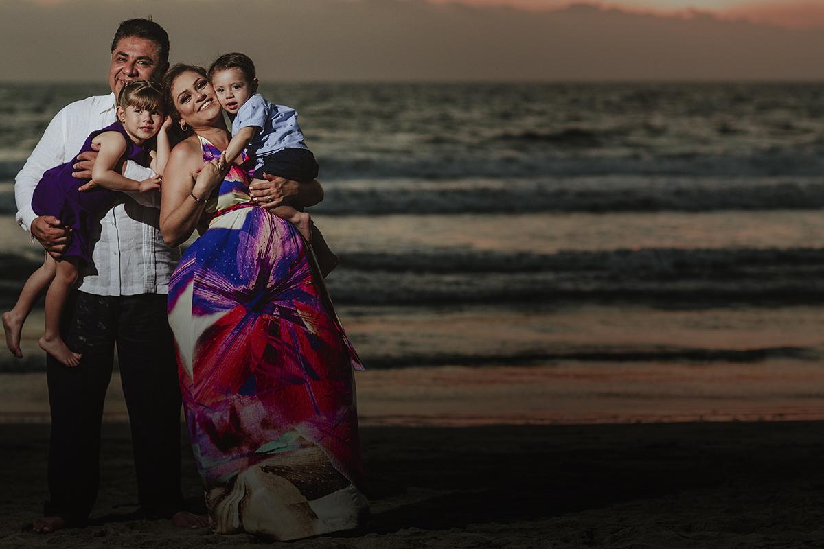 Blanca, Hugo & Familia
